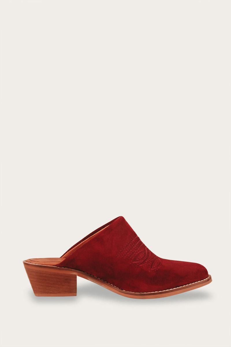 Embroidered Western Mule Catalina