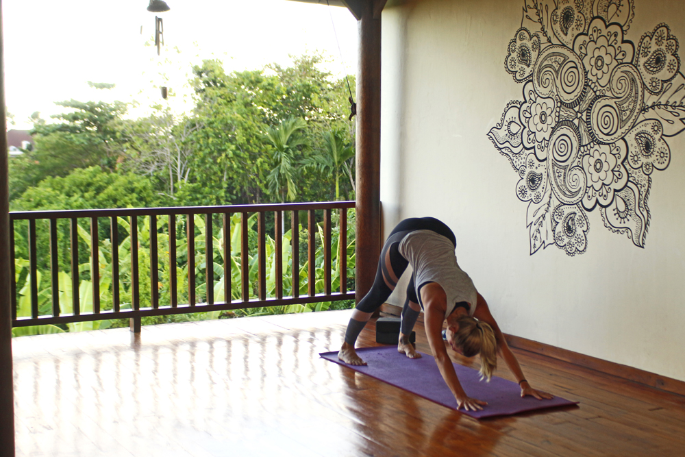 vivian living in bali yoga teacher