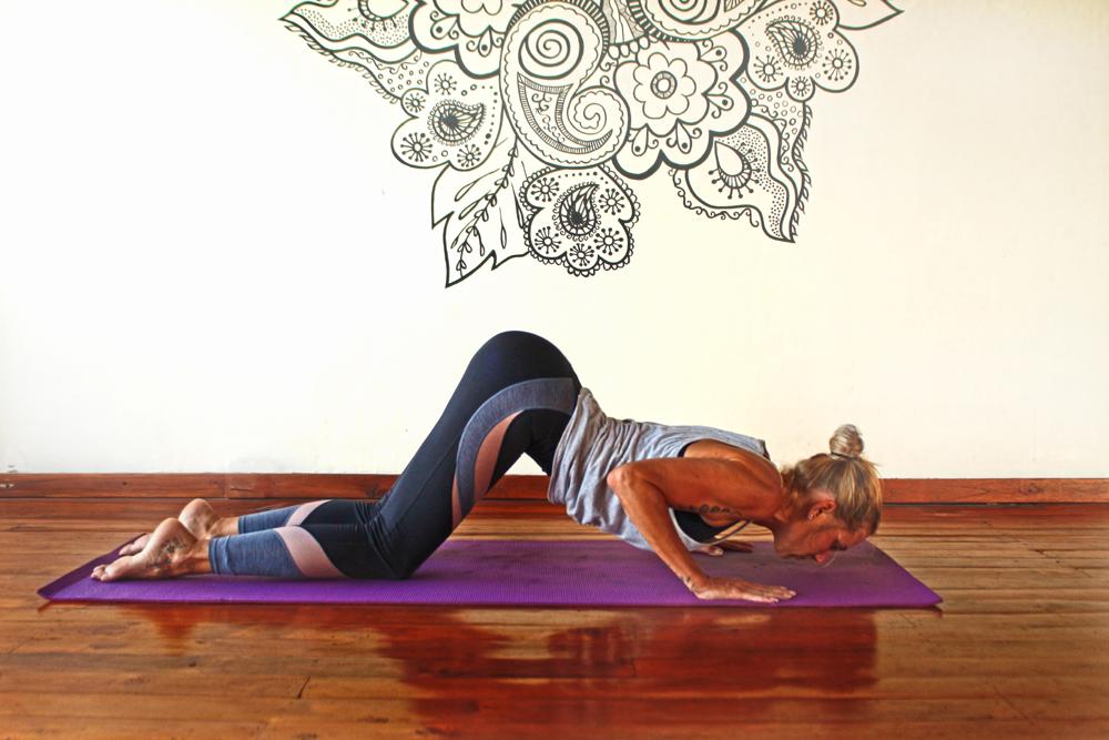 vivian living in bali yoga teacher