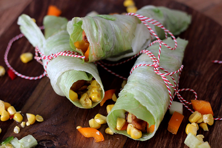 Healthy Mexican Wrap
