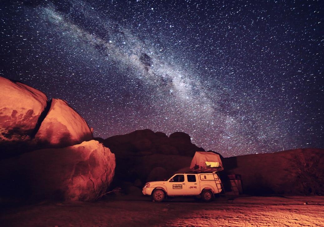 spitzkoppe campsite namibia