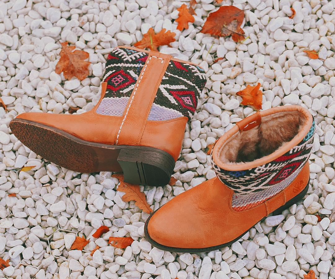 KINDRED SPIRITS // Perfect winter footwear – our warm Lammy boots!