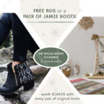 KINDRED SPIRITS // December Special – Buy a pair of boots and get a free Kilim Rug or Jamie Boots!