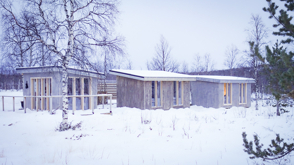 TRAVEL // A culinary experience in Swedish Lapland: Checking in to the Arctic Gourmet cabins