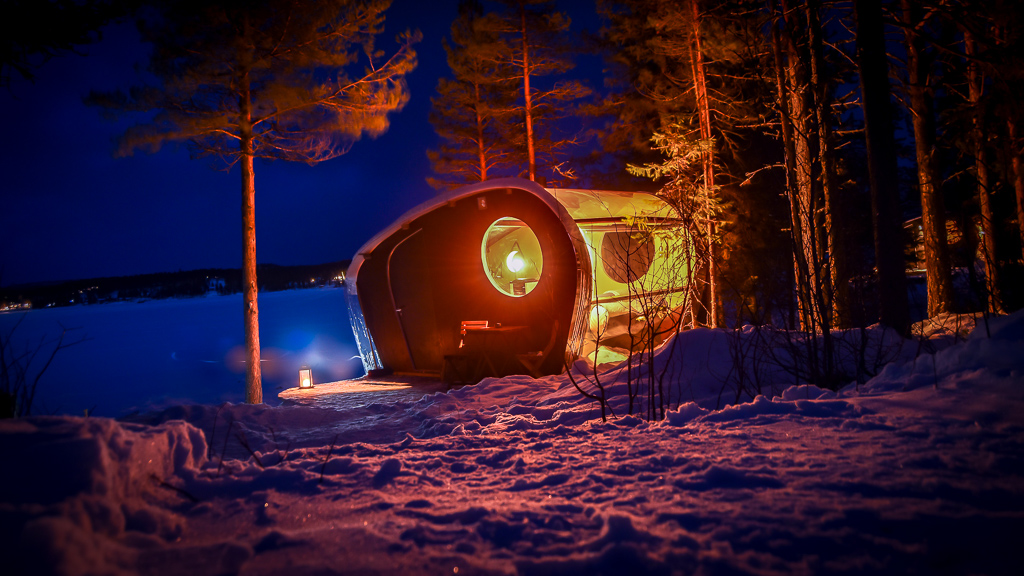 TRAVEL // Get off the grid: checking in to the Skynest in Swedish Lapland