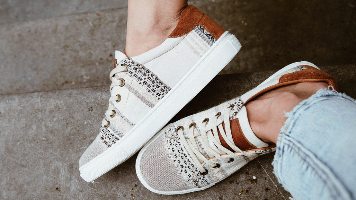 530a9ab83 New Suede Woven Kindred Spirits Sneakers are here!