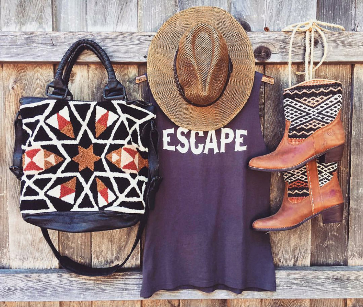 We have our beautiful kilim boots on, ready to go on any adventure! We're helping you style our boots