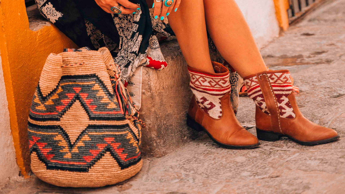 Sizzling Summer Style with the Jimi kilim Boots