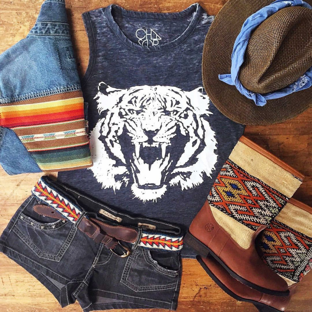 We've put together 10 perfect looks for the festival season. hot-tiger-festival-rockchick, Kilim boots by Kindred Spirits, Kiboots