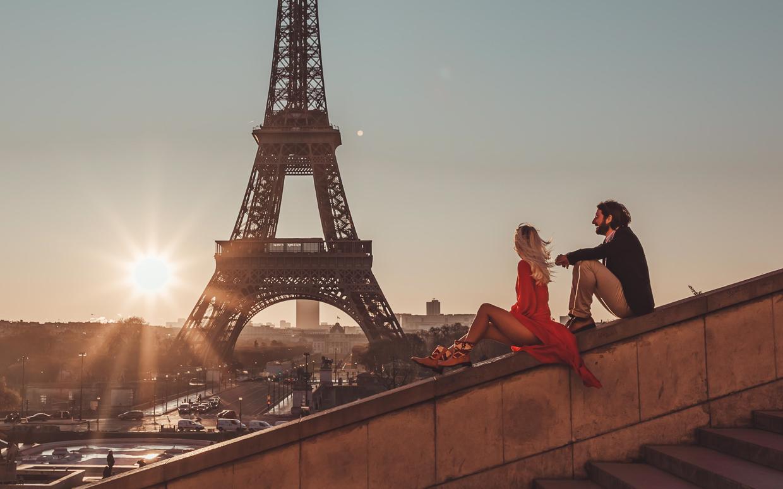 Paris Getaways in Our Vintage Kilim Rug Boots