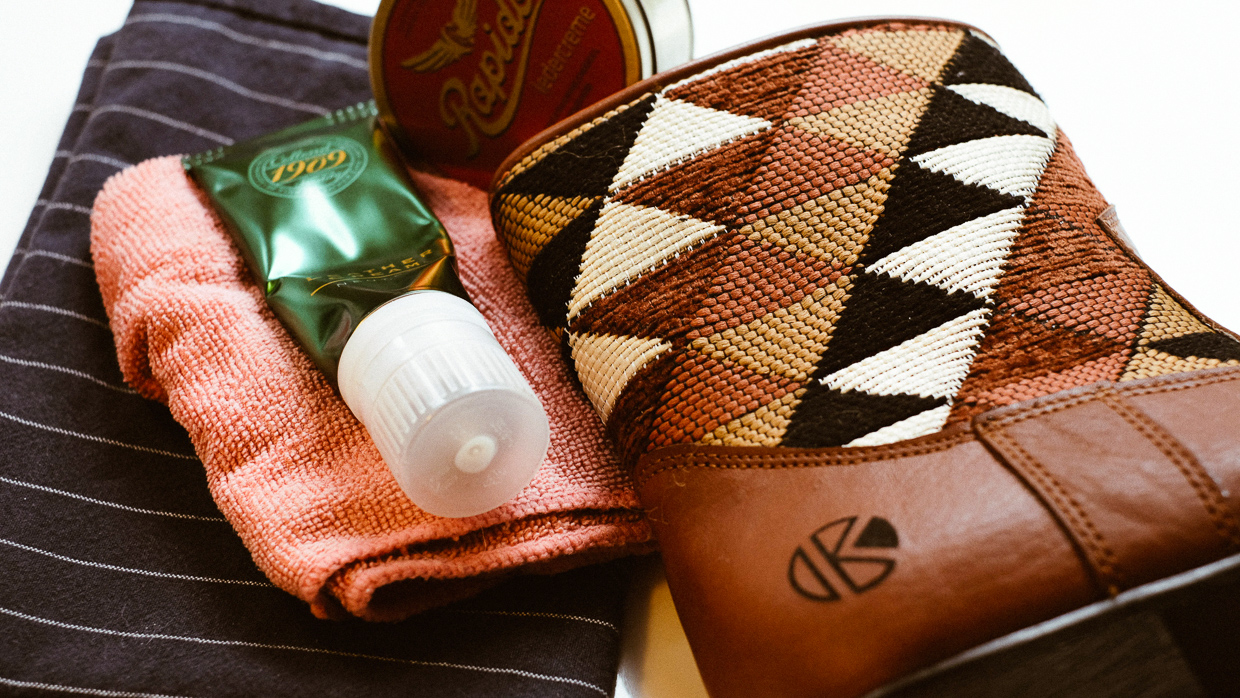 How To Take Care of Your Leather Kilim Boots