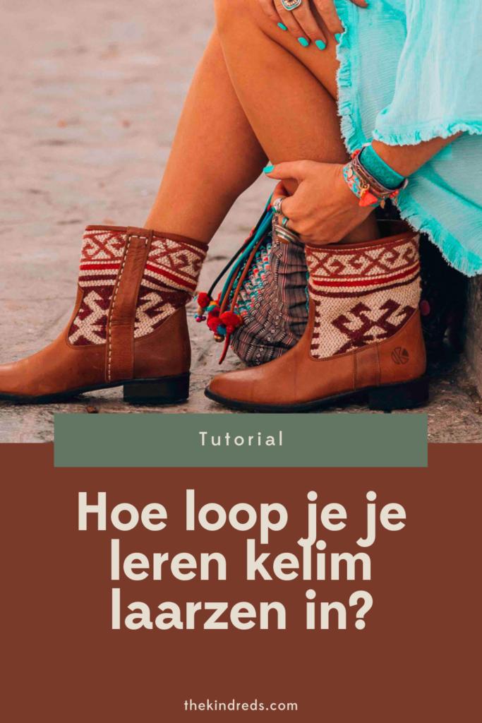 leren laarzen inlopen