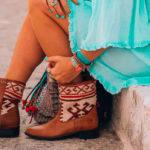 Hoe loop je je nieuwe kelim laarzen in?