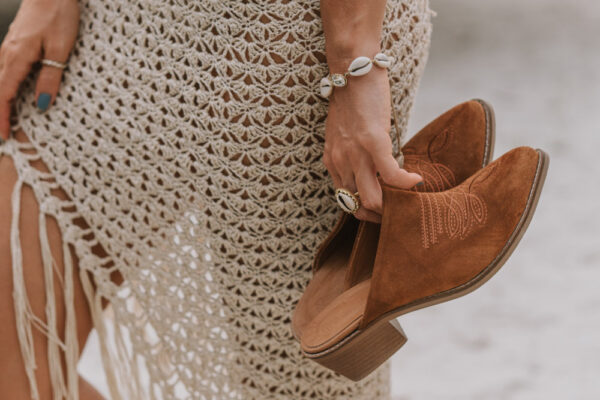 embroidered bohemian boots