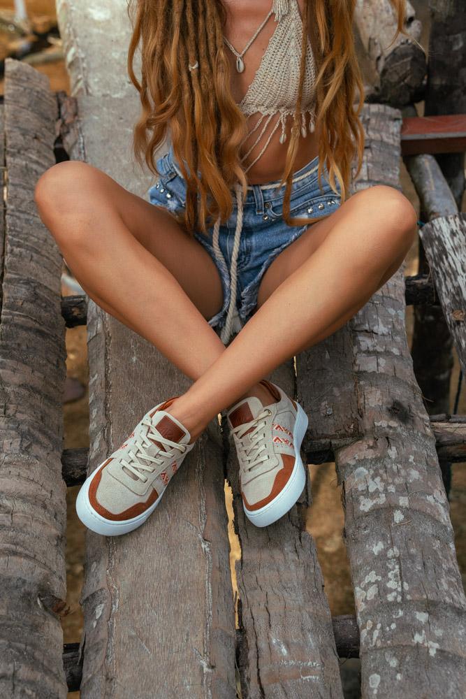 bohemian sneakers